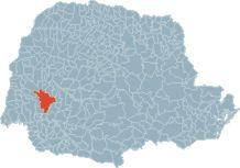 Localização do Município de Cascavel